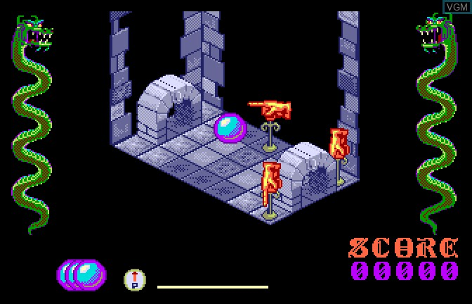 Image in-game du jeu Airball sur Apple II GS