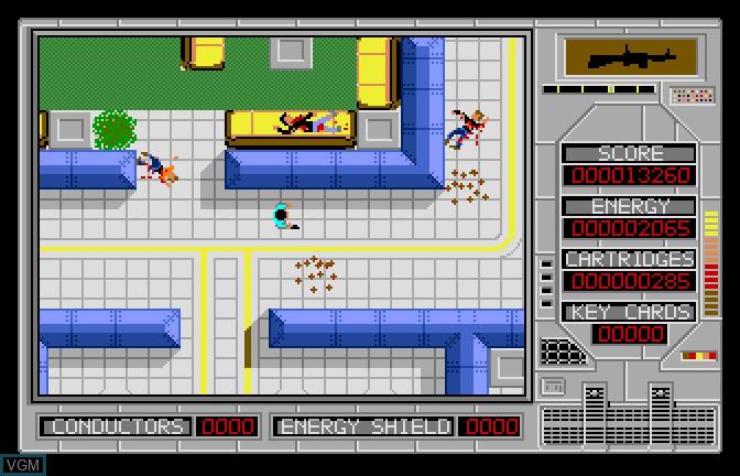 Image in-game du jeu Alien Mind sur Apple II GS