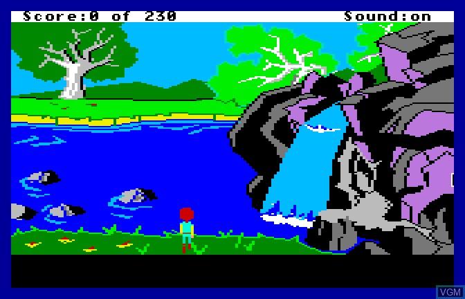 Image in-game du jeu Black Cauldron, The sur Apple II GS