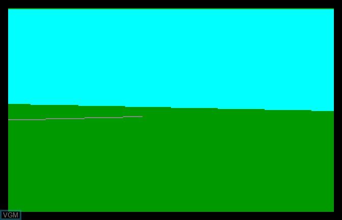 Image in-game du jeu Blue Angels sur Apple II GS