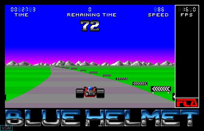 Image in-game du jeu Blue Helmet sur Apple II GS