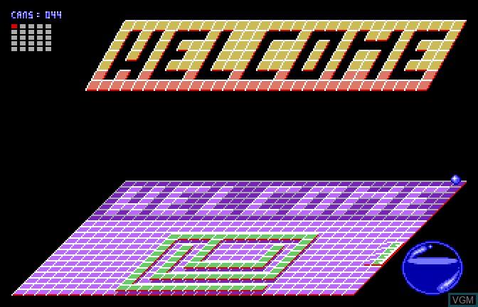 Image in-game du jeu Bouncin' Ferno sur Apple II GS