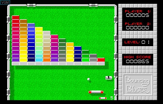 Image in-game du jeu Bouncing Bluster sur Apple II GS