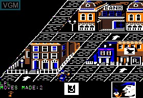 Image in-game du jeu 221b Baker Street sur Apple II
