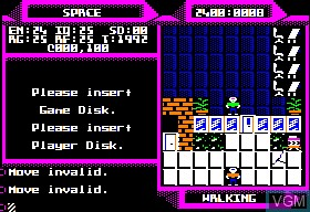 Image in-game du jeu 2400 A.D. sur Apple II