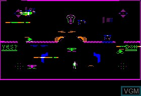 Image in-game du jeu Acid Trap sur Apple II