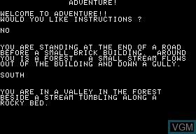 Image in-game du jeu Adventure sur Apple II