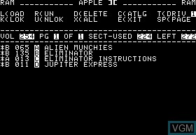 Alien Munchies & Eliminator & Jupiter Express