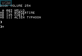 Alien Typhoon & Burgertime & Cubit