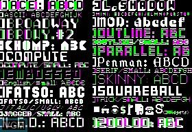 Apple Mechanic Typefaces
