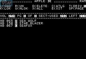 Sea Wolf  & Seafox & Star Blazer