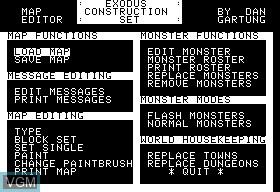 Ultima III - Exodus Construction Set