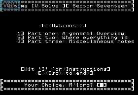 Ultima IV Solve Disk