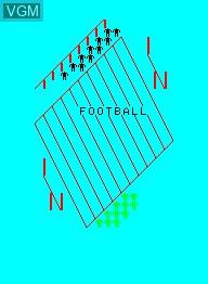 Image de l'ecran titre du jeu American Football sur Emerson Radio Corp. Arcadia 2001