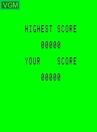 Image de l'ecran titre du jeu Crazy Climber sur Emerson Radio Corp. Arcadia 2001