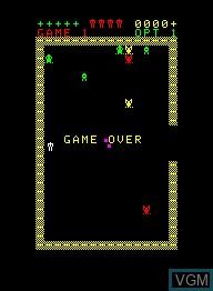 Image de l'ecran titre du jeu Escape sur Emerson Radio Corp. Arcadia 2001