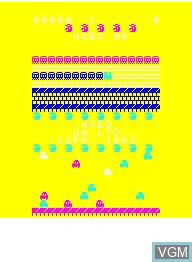Image de l'ecran titre du jeu Hobo sur Emerson Radio Corp. Arcadia 2001