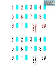 Image du menu du jeu Bowling 3D sur Emerson Radio Corp. Arcadia 2001