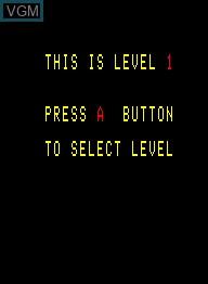 Image du menu du jeu Crazy Climber sur Emerson Radio Corp. Arcadia 2001