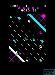 Image in-game du jeu Hobo sur Emerson Radio Corp. Arcadia 2001