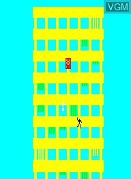 Image in-game du jeu Crazy Climber sur Emerson Radio Corp. Arcadia 2001