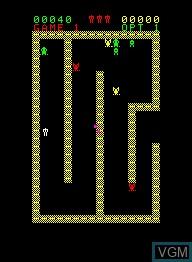 Image in-game du jeu Escape sur Emerson Radio Corp. Arcadia 2001