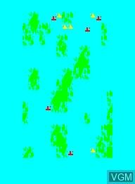 Image in-game du jeu Ocean Battle sur Emerson Radio Corp. Arcadia 2001