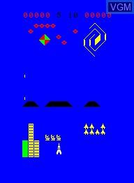Image in-game du jeu Pleiades sur Emerson Radio Corp. Arcadia 2001