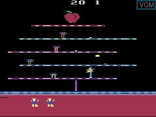 Image in-game du jeu Teddy Apple sur Atari 2600