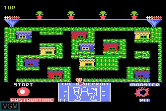 Image in-game du jeu Blueprint sur Atari 5200