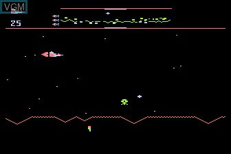 Image in-game du jeu Defender sur Atari 5200