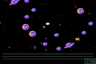 Image in-game du jeu Astro Chase sur Atari 5200