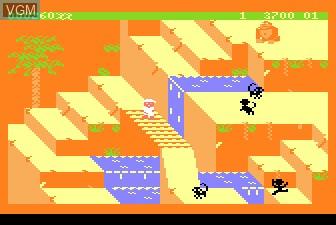 Image in-game du jeu Congo Bongo sur Atari 5200