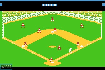 Image in-game du jeu Barroom Baseball sur Atari 5200