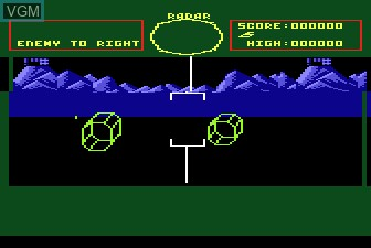 Image in-game du jeu Battlezone sur Atari 5200