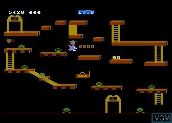 Image in-game du jeu Bounty Bob Strikes Back sur Atari 5200