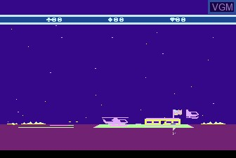Image in-game du jeu Choplifter sur Atari 5200