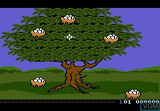 Image du menu du jeu Crack'ed sur Atari 7800