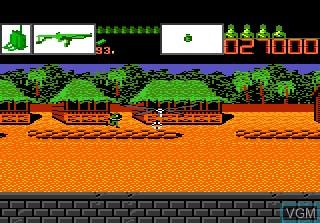 Image in-game du jeu Alien Brigade sur Atari 7800