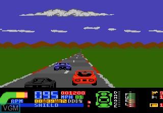 Image in-game du jeu Fatal Run sur Atari 7800