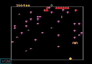 Image in-game du jeu Centipede sur Atari 7800