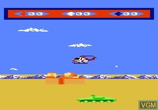 Image in-game du jeu Choplifter sur Atari 7800