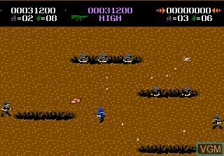 Image in-game du jeu Commando sur Atari 7800