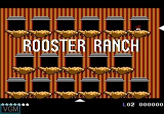 Image in-game du jeu Crack'ed sur Atari 7800