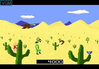 Image in-game du jeu Crossbow sur Atari 7800