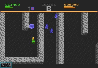 Image in-game du jeu Dark Chambers sur Atari 7800
