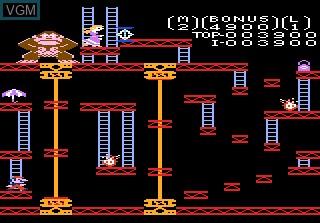 Image in-game du jeu Donkey Kong sur Atari 7800