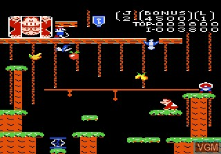 Image in-game du jeu Donkey Kong Jr sur Atari 7800