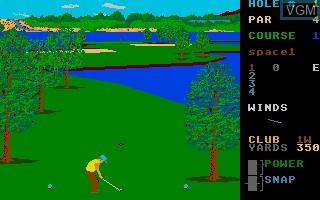Leader Board Pro Golf Simulator Tournament Disk 1
