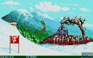 """Résultat de recherche d'images pour """"winter games 86 atari st"""""""